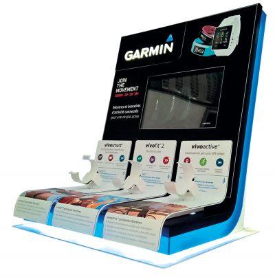 PLV Garmin | Ejemplo de PLV para cliente del sector Retail
