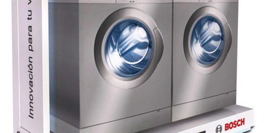 PLV Bosch Lavadoras | PLV para cliente del sector Electrodomésticos