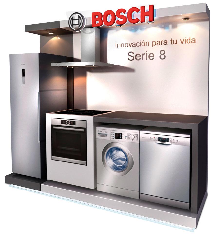 PLV Bosch | PLV para cliente del sector Electrodomésticos