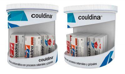 PLV Couldina | Ejemplo de PLV para cliente del sector OTC Farmacia