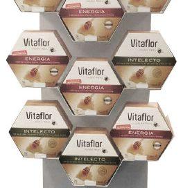 PLV Vitaflor | Ejemplo de PLV para cliente del sector OTC Farmacia