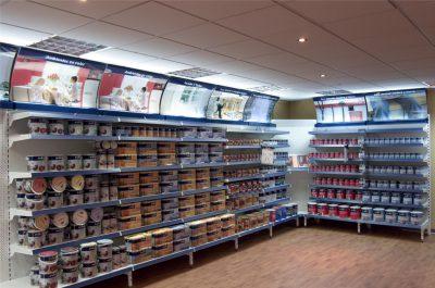 PLV Bruguer - Ejemplo de Mobiliario para cliente del sector Retail