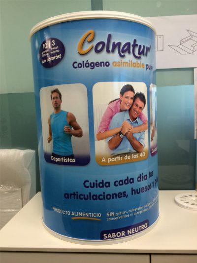 PLV Colnatur - Ejemplo de Expositor para cliente del sector OTC-Farmacia
