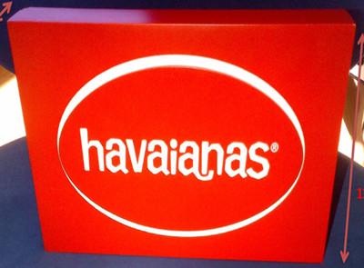 PLV Havaianas - Ejemplo de Expositor para cliente del sector Retail