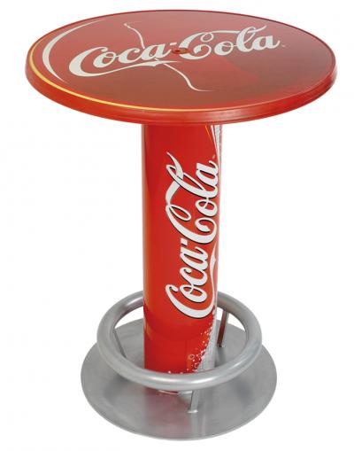 PLV CocaCola - Ejemplo de mesa Expositor para cliente del sector gran consumo
