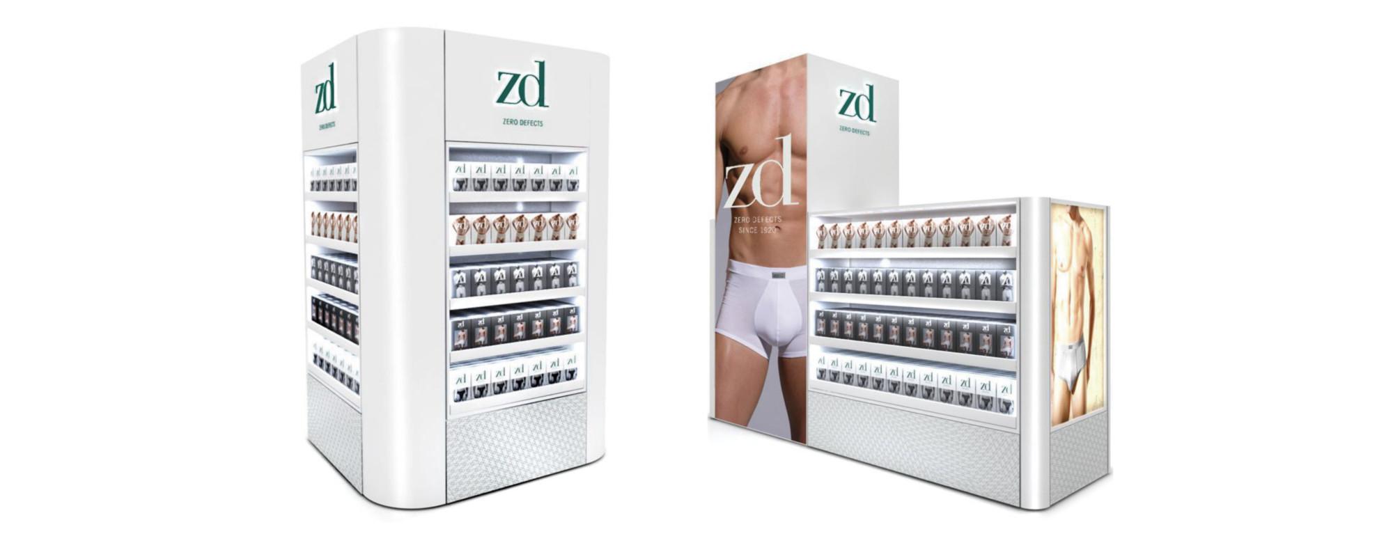 PLV ZD - Ejemplo de Mobiliario para cliente del sector Retail