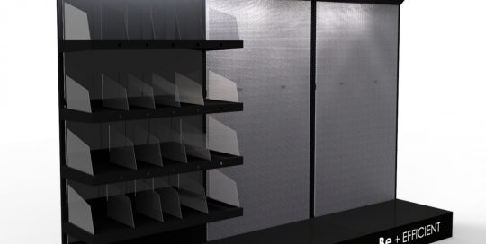 PLV Silver Electronics - Ejemplo de Mobiliario para cliente del sector Electrodomésticos
